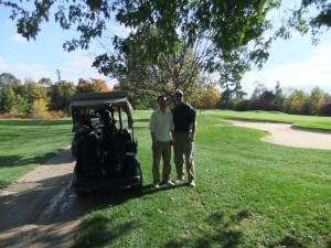 Golf with John